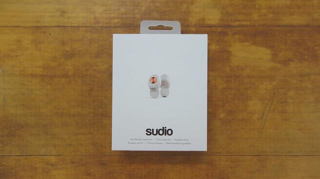 外包裝@Sudio Tolv真無線藍芽耳機