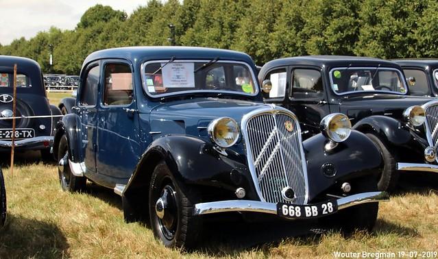 Citroën Traction Avant 7C 1934