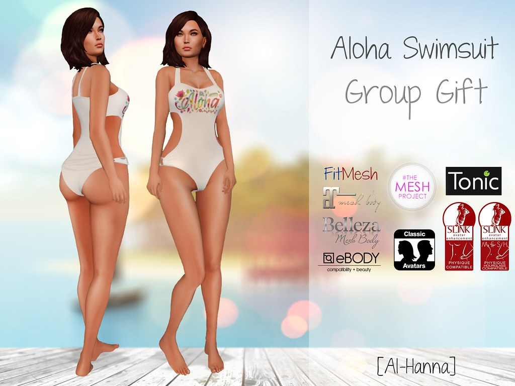 [Al-Hanna] Aloha Swimsuit Group Gift