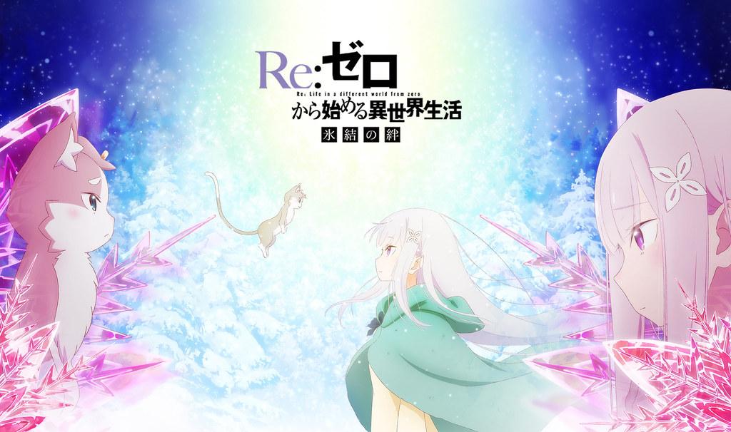 190728 - 前日譚OVA《Re:ゼロから始める異世界生活 氷結の絆》(Re:從零開始的異世界生活 冰結之絆)宣布11/8劇場上映!