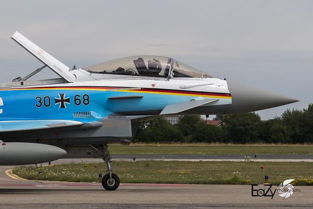 30+68 German Air Force (Luftwaffe) Eurofighter Typhoon
