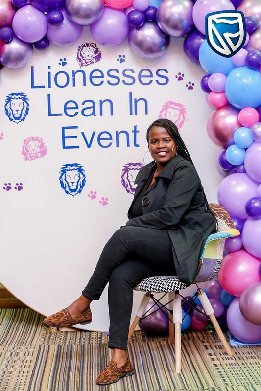 Lioness Lean In - Gaborone, Botswana, 19 July 2019