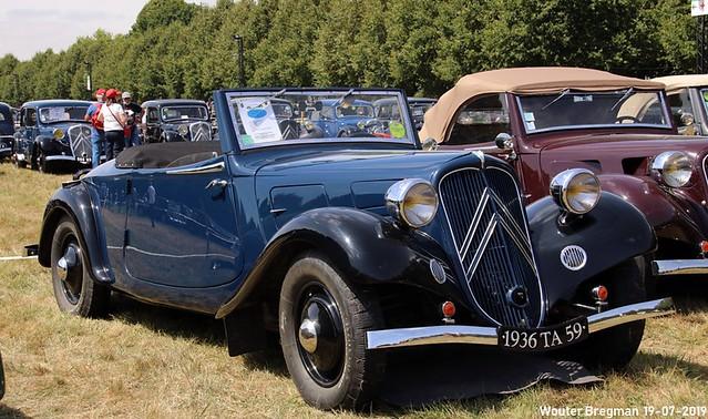 Citroën Traction Avant 7C cabriolet 1936