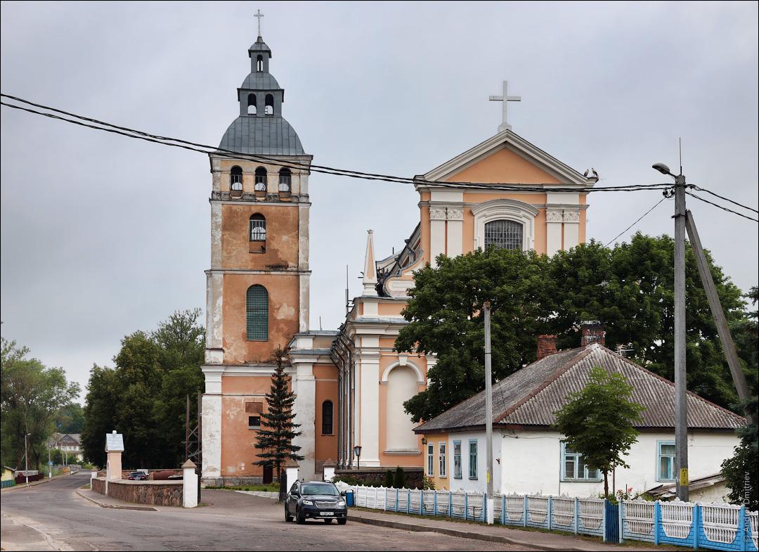 Свирь, Беларусь, Костел св. Николая