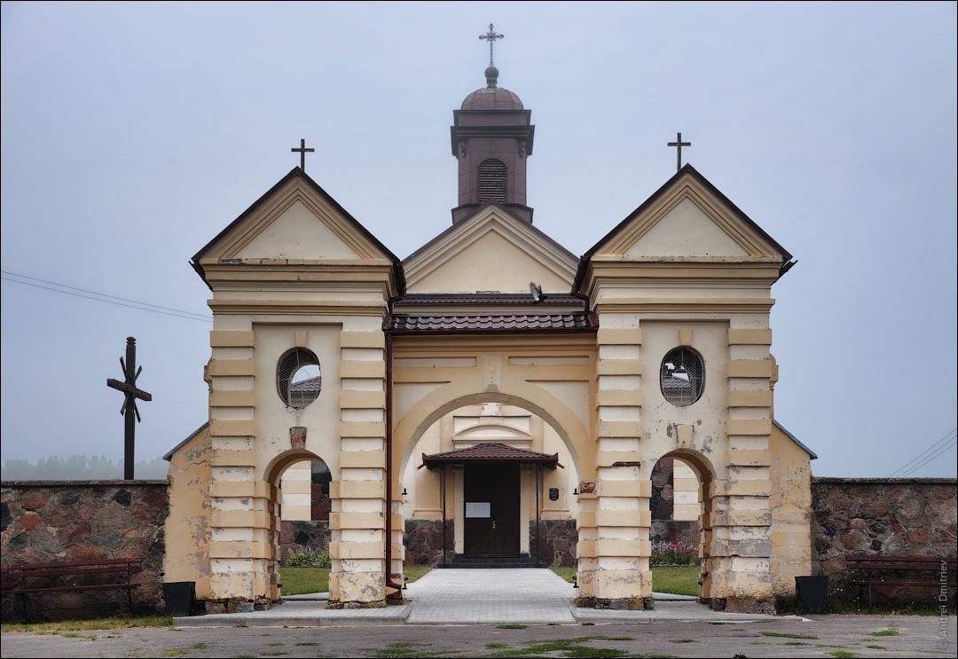 Константиново, Беларусь, Костел Вознесения Девы Марии