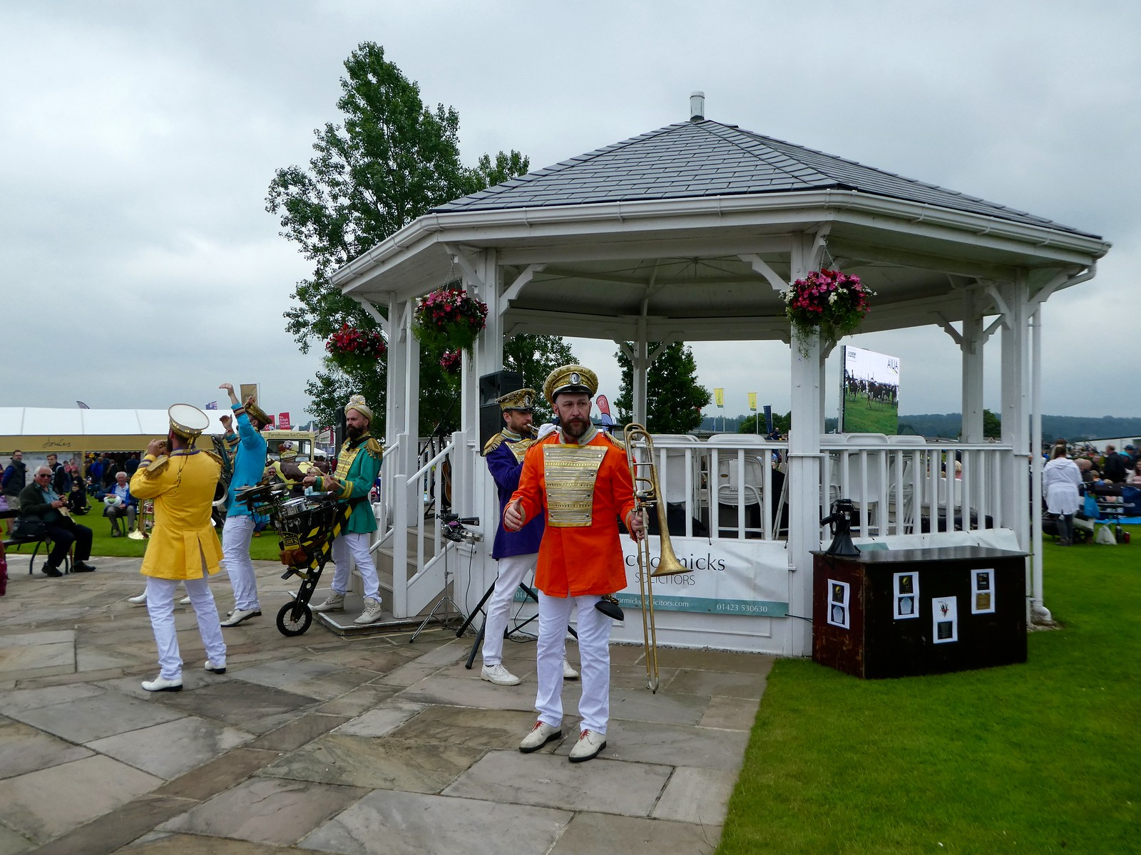 Bandstand, at the Great Yorkshire Show, Harrogate
