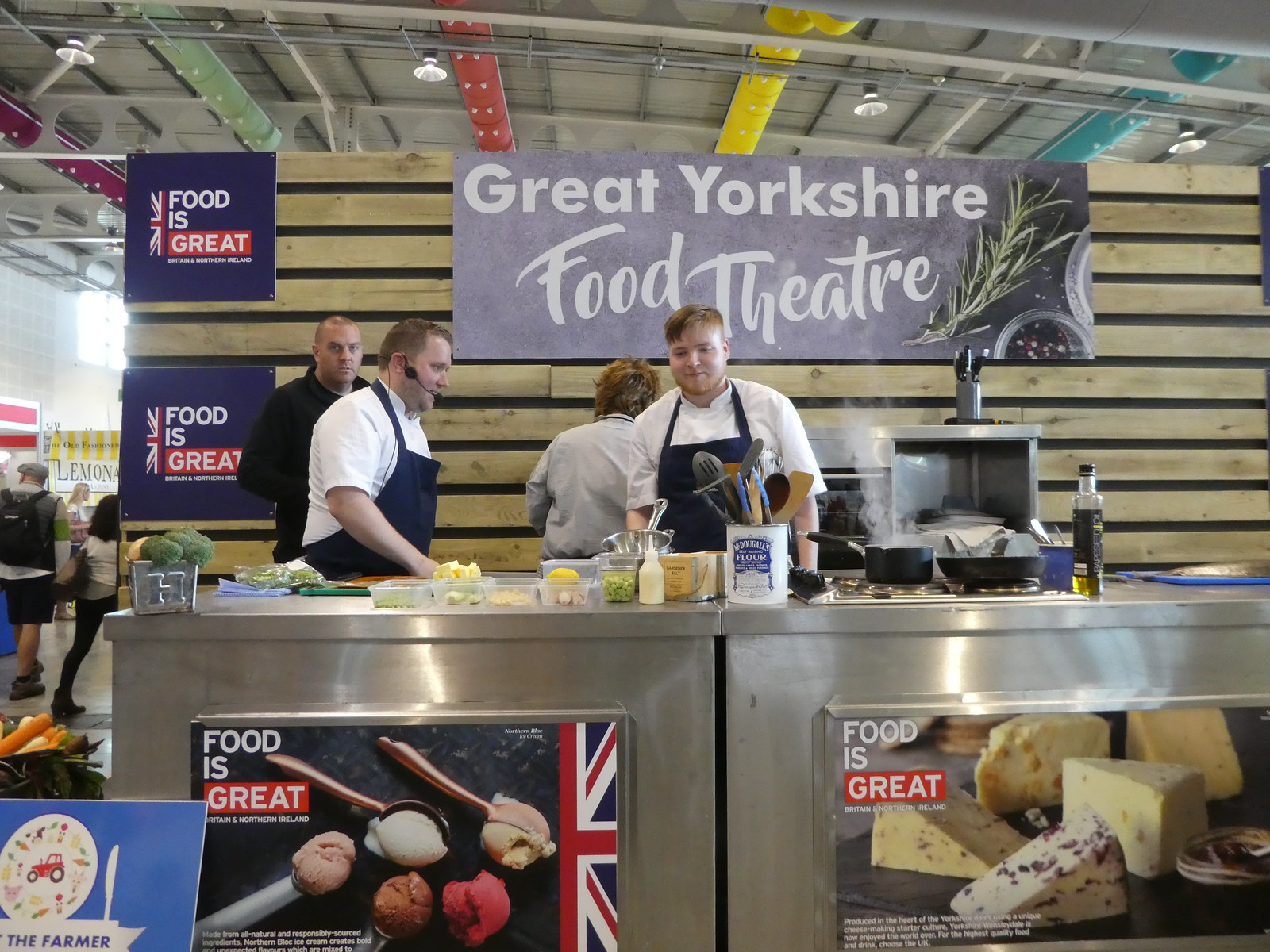 Great Yorkshire Food Theatre, Great Yorkshire Show, Harrogate