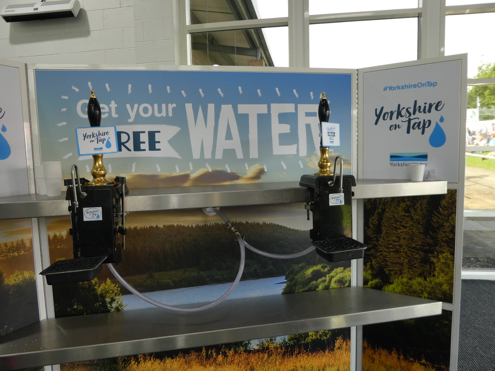Yorkshire Water Bar, Great Yorkshire Show, Harrogate