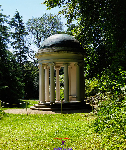 Alice's temple Hillsborough castle grounds