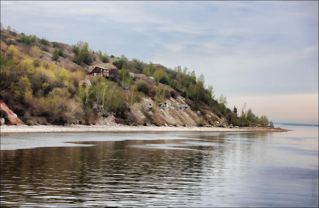 Река Волга, Россия