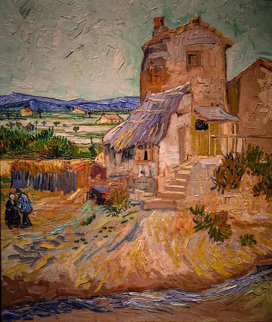Vincent van Gogh - The Old Mill, 1888 at Detroit Institute of Arts - Detroit MI