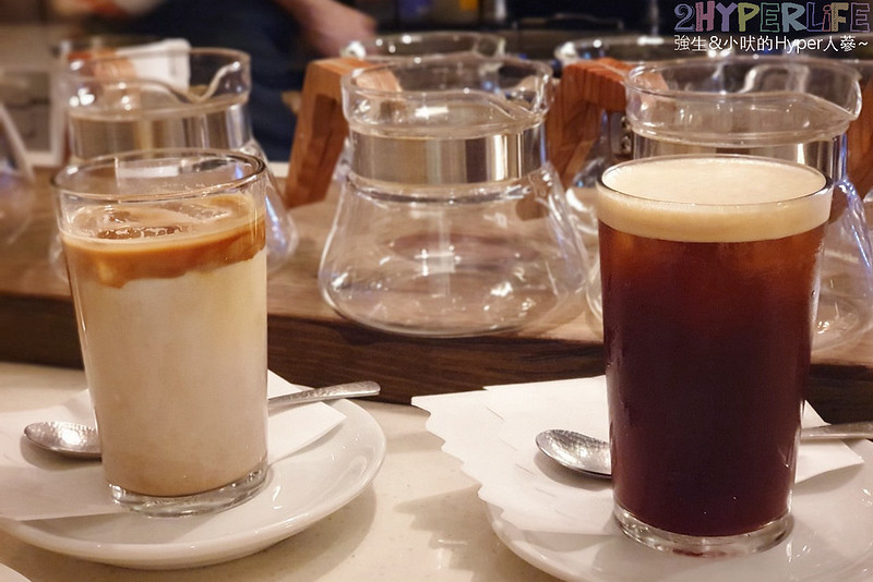 Brewband Coffee│千層蛋糕聽說媲美Lady M但價格親切不少啊!芒果千層塞滿芒果粒,台中大甲隱藏巷弄美食布魯本咖啡~ @強生與小吠的Hyper人蔘~