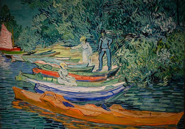 Vincent van Gogh - Bank of the Oise at Auvers, 1890 at Detroit Institute of Arts - Detroit MI