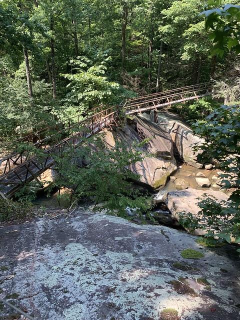 A steel bridge!