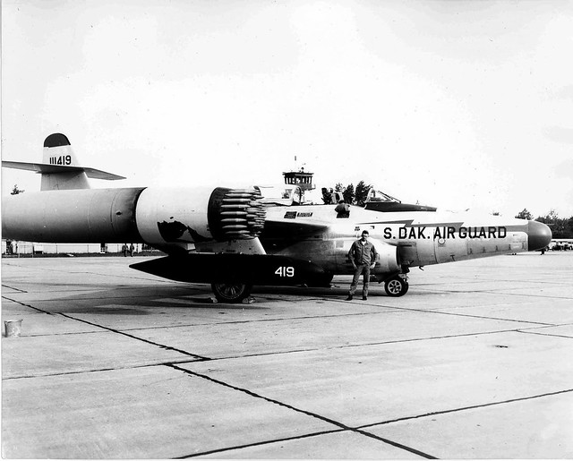 F89-D_Scorpion_Air_Force_interceptor_1958