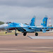 Su-27P 'Flanker' readys for take off