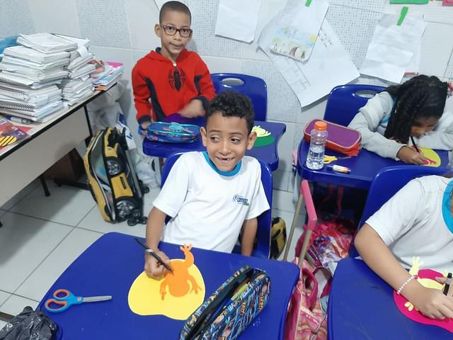 Preparativos para Mostra de Conhecimentos Kids