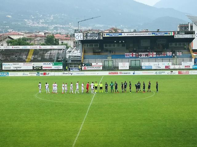 Amichevole, Padova-Virtus Verona 0-0