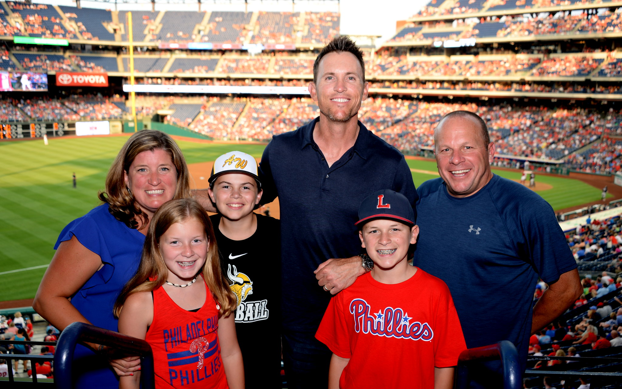 The Barkann Foundation's Healing Hearts Night Out at the Phillies Game!