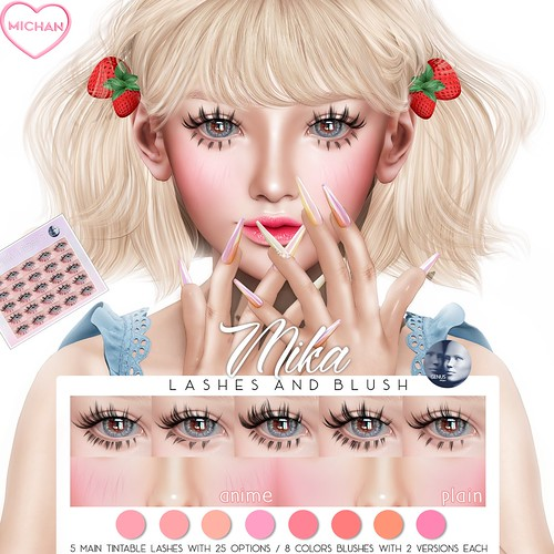 Mika Lashes & Blush @ Notice Me Senpai