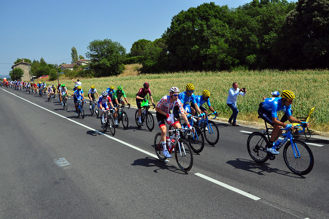 Tour de France in Countryside