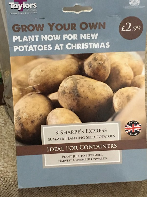 New potatoes for Christmas