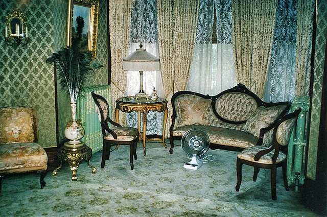 Grand Rapids  Michigan  - Ralph Voigt House and Museum  - Heritage Hill -  Period  Living Room