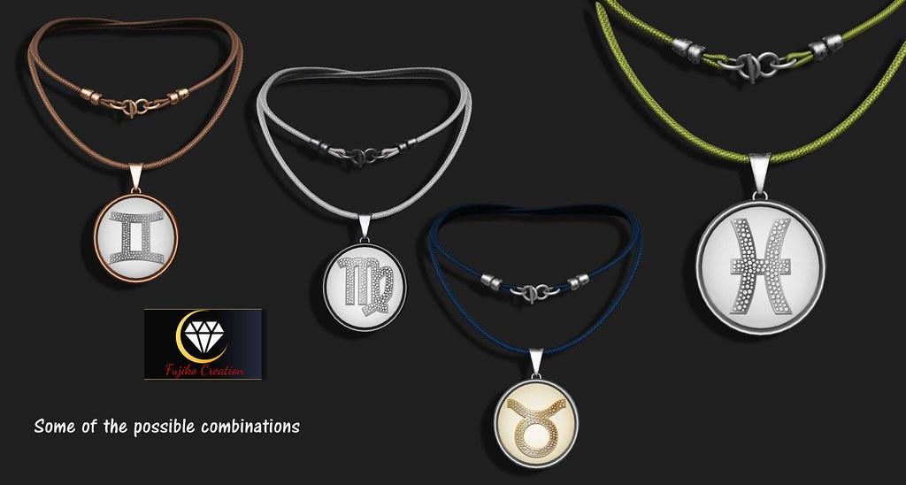 example necklace combinationzodiac