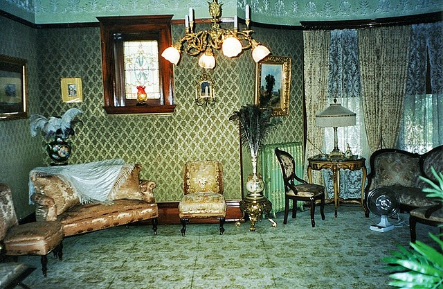 Comment or Fave top Photo First  ----- - Grand Rapids  Michigan  - Ralph Voigt House and Museum  - Heritage Hill -  Period  Living Room