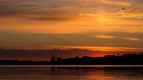 canoneosm canon sunrise summer nature ukraine mykolaiv beach landscape river shore water lowlight