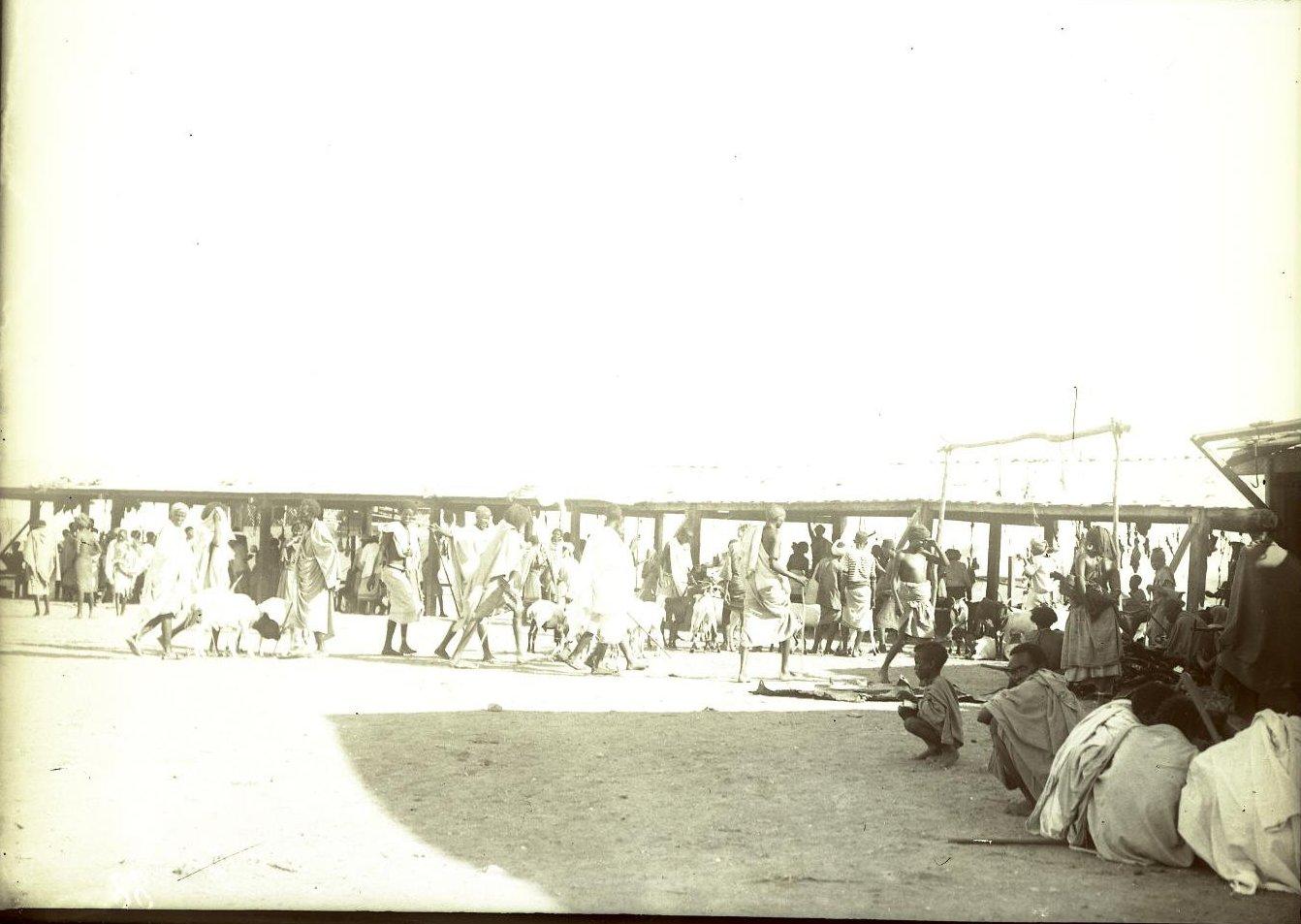 88. Джибути. Мясной рынок