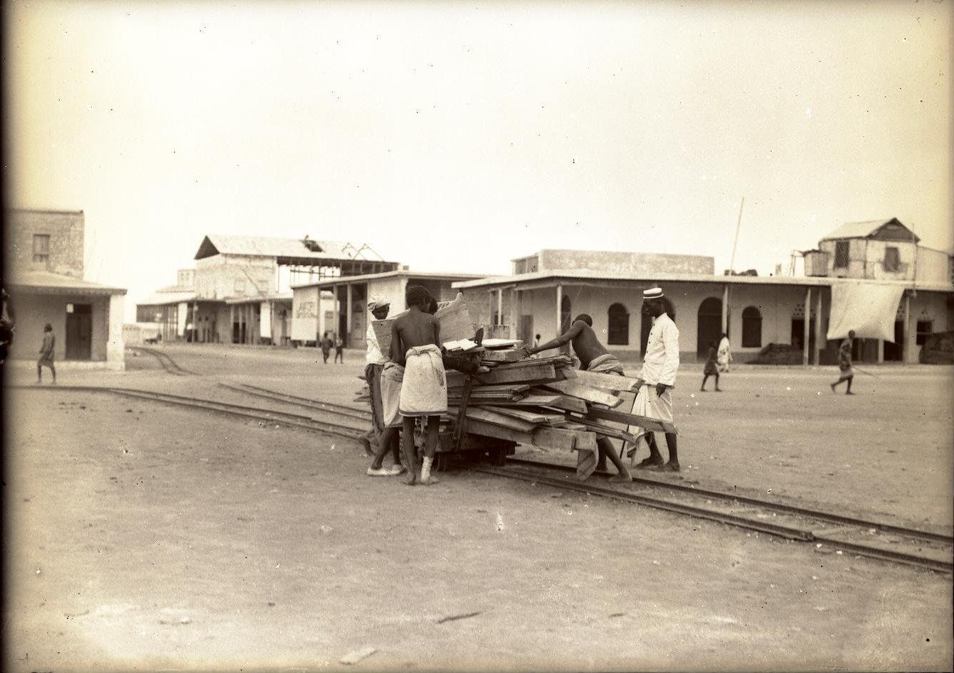 79. Джибути. Сомали за работой