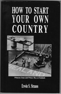 How to Start Your Own Country (cover)