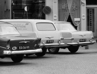 EG-36-99 Opel 1200 - 1500 P1 1961 TF-32-11 Opel Rekord P2 Lieferwagen 1962 HG-63-73 Opel Rekord P2 1962