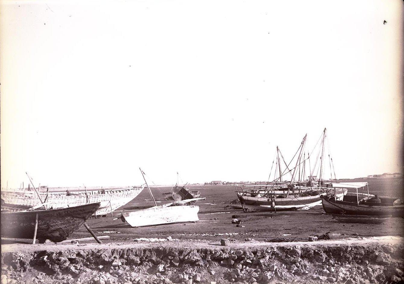 74. Джибути. Вид на побережье во время отлива