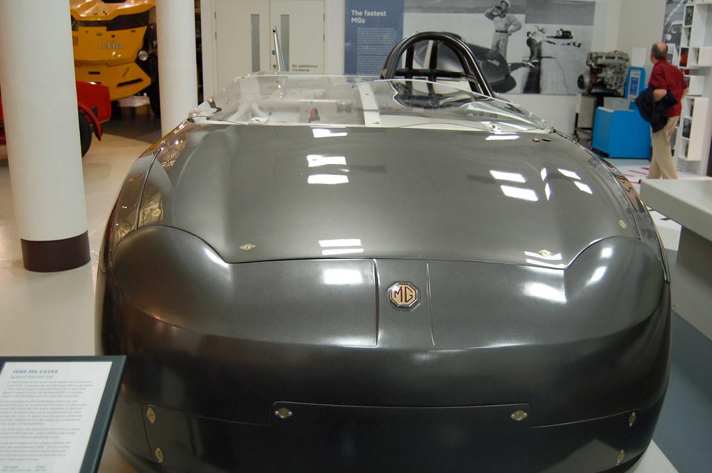 Beautiful MG prototype