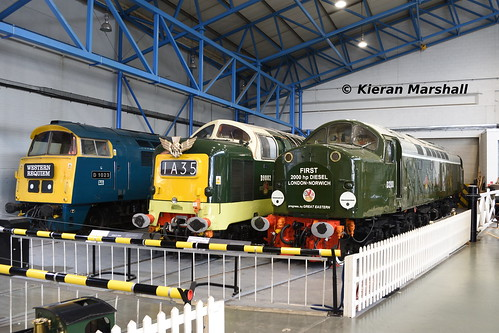 D1023, D9002 and D200 at NRM York, 10/7/19 | by hurricanemk1c