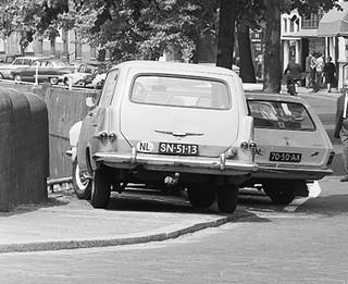 SN-51-13 Opel Rekord P2 Lieferwagen 1961 70-50-AX Opel Kadett B CarAVan 1966