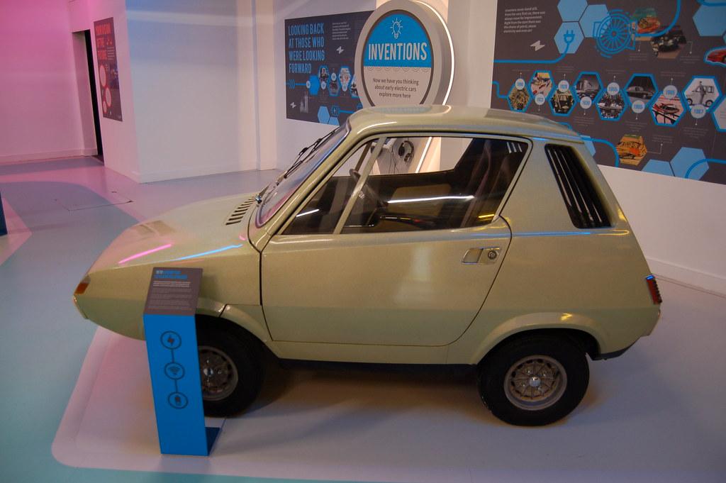 1972 Leyland-Crompton electric car prototype.