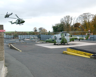 Bessbrook Mill Heliport South Armagh Northern Ireland