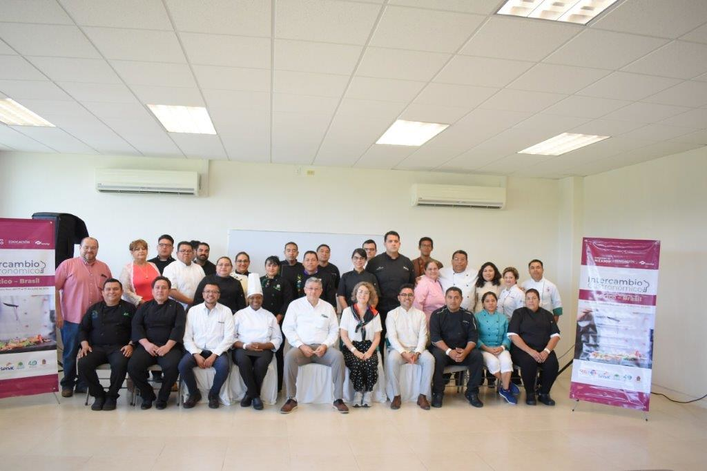 Intercambio gastronómico CONALEP / SENAC Bahía / RIET