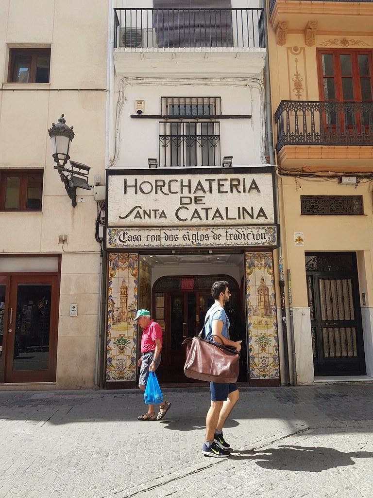 Horchateria de Santa Catalina. Plaça de Santa Caterina, València.