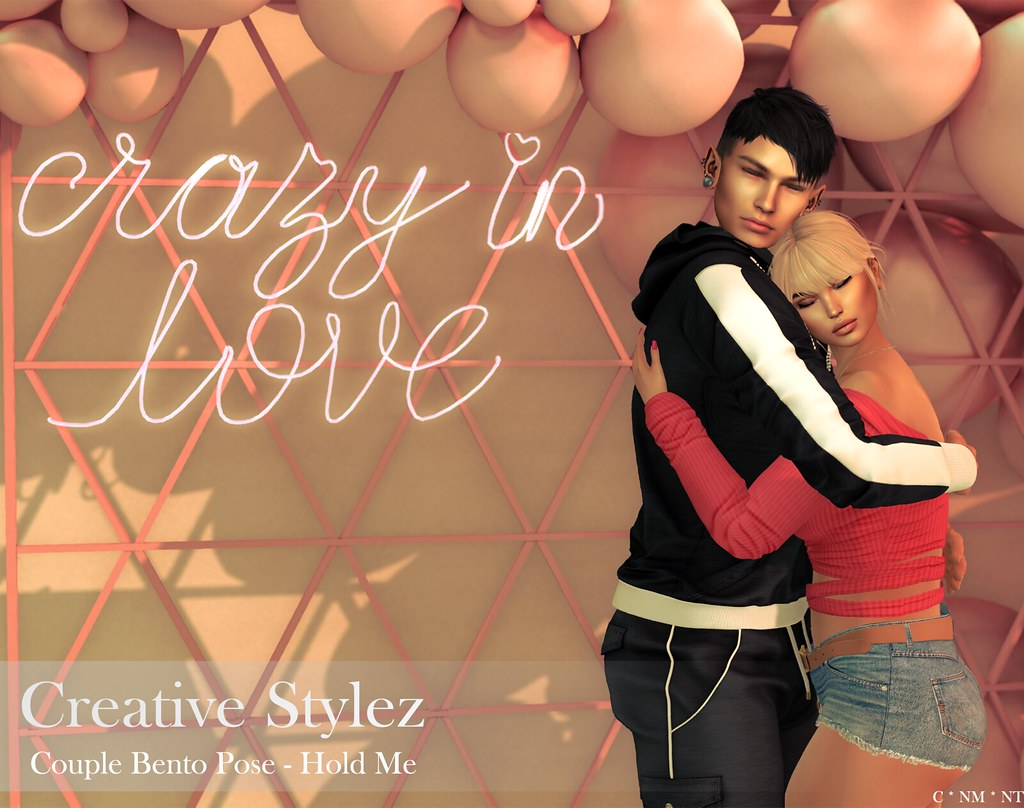 Creative Stylez – Couple Bento Poses – Hold me –