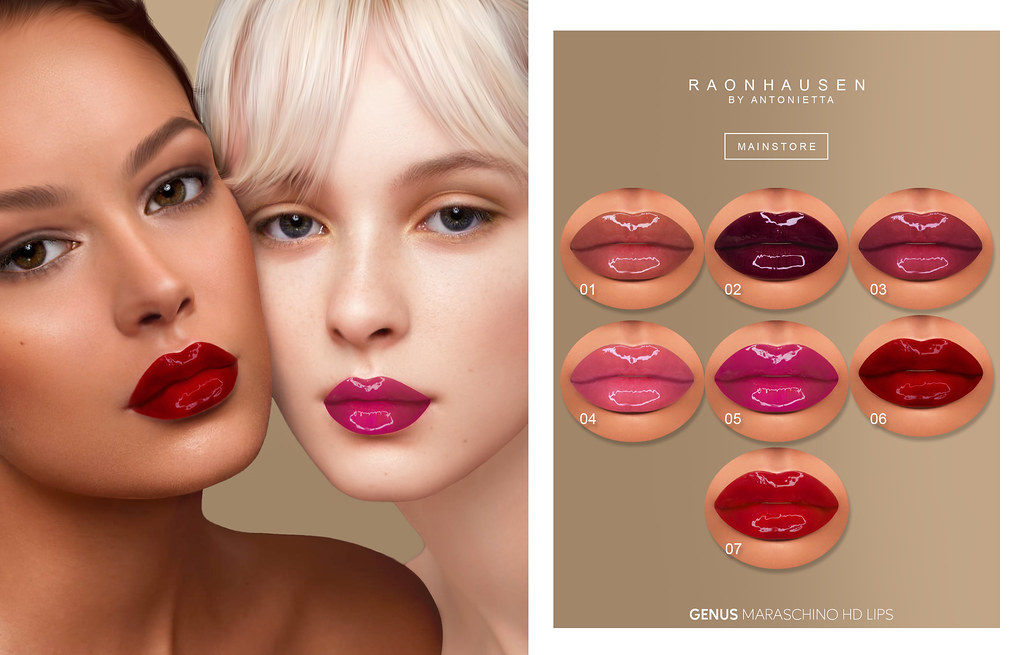 Maraschino HD Lips for Genus