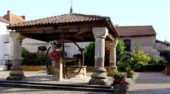 Poussay (Mirecourt, Vosges, Fr) – Le vieux puits couvert
