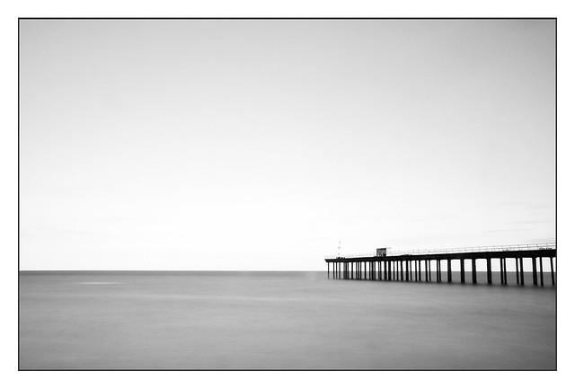 Long exposure - Felixstowe Pier