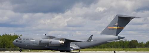USAF  Boeing C-17 GLOBEMASTER III,  Duluth Mn (DLH) 2019 Airshow    (Home ALTUS AFB)