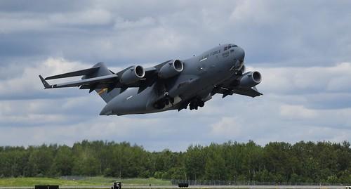 USAF C-17 GLOBEMASTER III,  Duluth Mn (DLH) 2019 Airshow