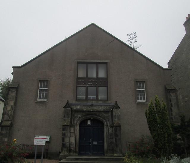Upper part, St Andrews Memorial Hall