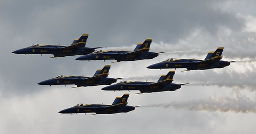 US Navy F/A 18 Hornets  BLUE ANGELS  Duluth (DLH) 2019 Air Show
